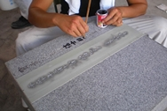 文字彫刻のイメージ