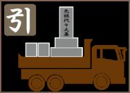お墓の移転のイメージ